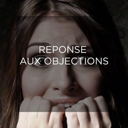 Réponse aux objections